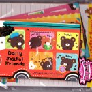 Pool Cool Japan Daily Joyful Friends Letter Set Kawaii
