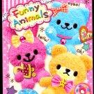 Kamio Japan Funny Animals Mini Memo Pad Kawaii