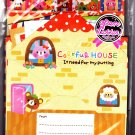 Pool Cool Japan Colorful House Letter Set with Stickers Kawaii