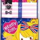 Mind Wave Japan Merry Girl Letter Set with Stickers Kawaii