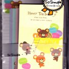 Crux Japan Honey Tea Bear Letter Set Kawaii