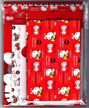 Sanrio Japan Hello Kitty Ribbon Letter Set (B) 2011 Kawaii
