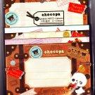 San-X Japan Chocopa Letter Set (A) 2012 Kawaii