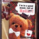 Kamio Japan Friend Bear Letter Set (A) Kawaii