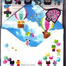 Kamio Japan Wonderful Friends Letter Set with Stickers (A) Kawaii