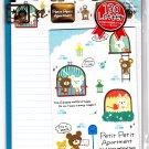 Crux Japan Petit Petit Apartment Letter Set with Stickers Kawaii