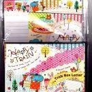 Kamio Japan Happy Train Letter Set Kawaii