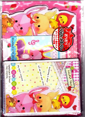 Kamio Japan Lilliput Toys Letter Set Kawaii