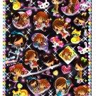 Crux Japan Hime Girls Epoxy Sticker Sheet (B) Kawaii