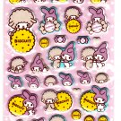 Sanrio Japan My Melody Biscuit Puffy Sticker Sheet by Sun-Star 2010 Kawaii