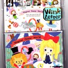 Kamio Japan Magical Funny World Letter Set with Stickers Kawaii