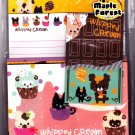 Q-Lia Japan Whipped Cream Letter Set Kawaii