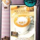 Kamio Japan Bear's Cafe Time Letter Set Kawaii