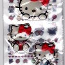 Sanrio Japan Hello Kitty 2-in-1 Sticker Sheet 2008 Kawaii