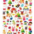 Kamio Japan Winter Seal Christmas Sticker Sheet Kawaii