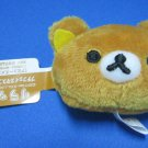 San-X Japan Rilakkuma Head Plush Strap 2011 Kawaii