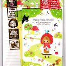 Kamio Japan Fairy Tale World Letter Set with Stickers (D) Kawaii