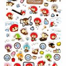 San-X Japan Kireizukin Seikatu Cleaning Raccoon Sticker Sheet (B) 2009 Kawaii
