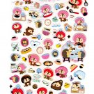 San-X Japan Kireizukin Seikatu Cleaning Raccoon Sticker Sheet (B) 2010 Kawaii
