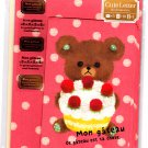 Mind Wave Japan Mon Gateau Letter Set with Stickers Kawaii