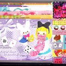 Crux Japan Party Time Is Coming Letter Set with Stickers Kawaii