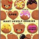 Pool Cool Japan Many Lovely Cookies Mini Memo Pad Kawaii