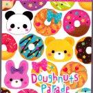 Mind Wave Japan Doughnuts Parade Mini Memo Pad Kawaii
