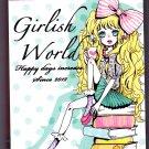 Kamio Japan Girlish World Mini Memo Pad Kawaii