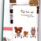 Mind Wave Japan Toi Toi Toi Letter Set with Stickers Kawaii