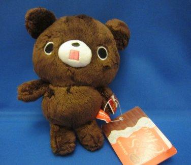 San-X Japan Chocopa Panda 100% Chocolate Plush 2012 New with Tag Kawaii