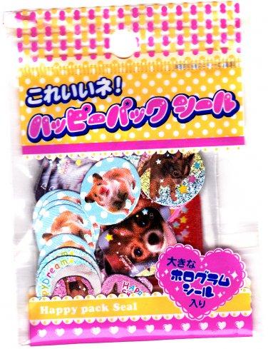 Lemon Japan Cute Animals Sticker Sack Kawaii