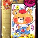 Kamio Japan Lovely Friend Letter Set Kawaii
