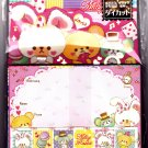 Kamio Japan Milky Rabbit Letter Set with Stickers Kawaii