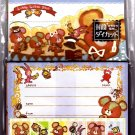 Kamio Japan Marron Marron Bear Letter Set with Stickers Kawaii