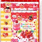 Sho-Bi Japan Sweet Patisserie Letter Set with Stickers Kawaii