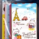 Fortissimo Japan Travel Street Letter Set Kawaii