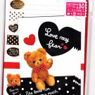 Mind Wave Japan Love My Bear Letter Set with Stickers Kawaii