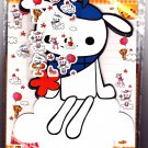 P. Funny Japan Cute Dog Letter Set with Stickers Kawaii