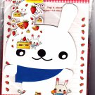 P. Funny Japan Cute Rabbit Letter Set with Stickers Kawaii