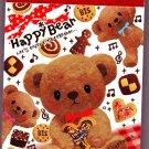 Pool Cool Japan Happy Bear Mini Memo Pad Kawaii