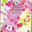 Pool Cool Japan Lovely Moco Mini Memo Pad Kawaii