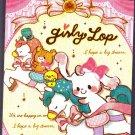 Crux Japan Girly Lop Mini Memo Pad Kawaii