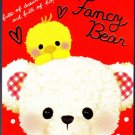 Crux Japan Fancy Bear Mini Memo Pad Kawaii