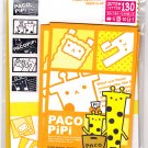 Mind Wave Japan Paco Pipi Letter Set with Stickers Kawaii