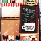Q-Lia Japan Whipped Cafe Letter Set Kawaii