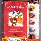 Q-Lia Japan Milk Choco Smile Book Letter Set with Stickers Kawaii