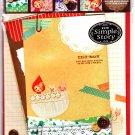 Q-Lia Japan Mish-Mash Letter Set with Stickers Kawaii
