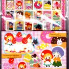 Q-Lia Japan Little Fairy Tale Letter Set with Full Sticker Sheet Kawaii