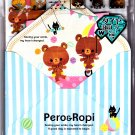 Kamio Japan Pero & Ropi Letter Set with Stickers Kawaii
