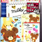 Crux Japan Milky Cream Letter Set with Stickers Kawaii
